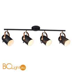 Потолочный светильник IDlamp Intradossi 364/4PF-Black