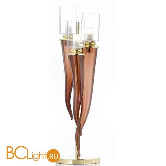 Настольная лампа IlParalume MARINA 8810 2049/T/CAFFE'/LU