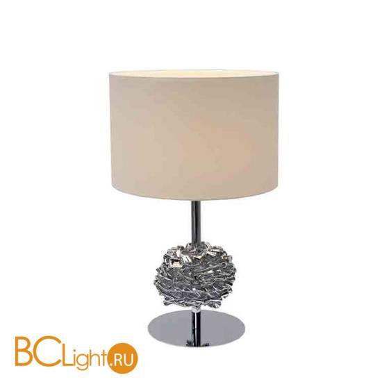 Настольная лампа Ilfari Flowers from Amsterdam T1 Beige shade 10841 02