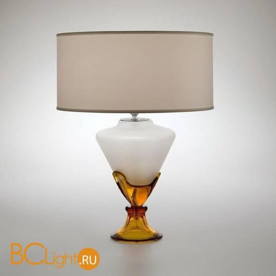 Настольный светильник Italamp 8104/LG Amber / NK / White shades