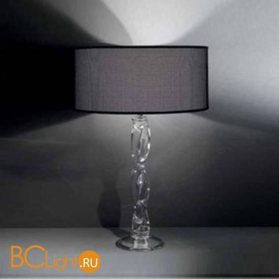 Настольный светильник Italamp 8023/LP Transp. / NK / Black shade