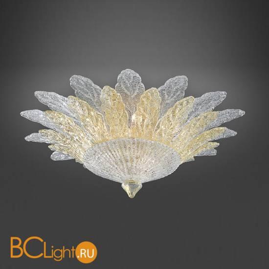 Потолочный светильник Italamp 73/130 Transp.-gold/ O
