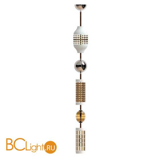 Подвесной светильник Italamp Odette Odile Comp, 2360/G Teak