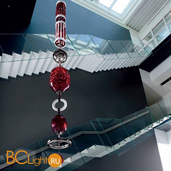 Подвесной светильник Italamp Odette Odile Comp, 2360/B Red
