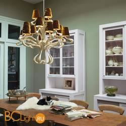 Люстра Jacco Maris Ode 1647 OD15CH.SI grey lampshades