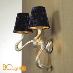 Бра Jacco Maris Ode 1647 OD02WA.SI violet lampshades