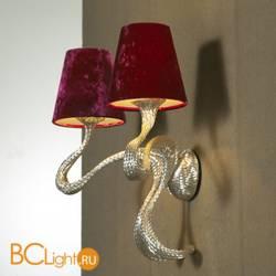 Бра Jacco Maris Ode 1647 OD02WA.SI red lampshades