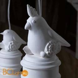 Керамическая птичка с хохолком Karman Via Rizzo 7 100SE695G