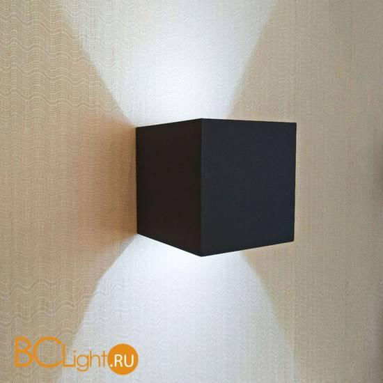 Уличный настенный светильник Kink Light Куб 08585,19(4000K)