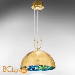 Подвесной светильник Kolarz Aura 0395.31+1M.3.Aq.BG