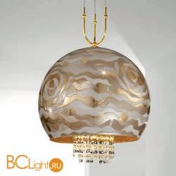 Подвесной светильник Kolarz Luna 0392.31+1L.3.Aq.Ch + 0392.SetL/XL.3.ET