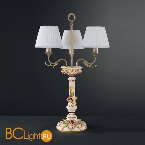 Настольная лампа La Lampada TLG. 1206/3.26 MADREPERLA