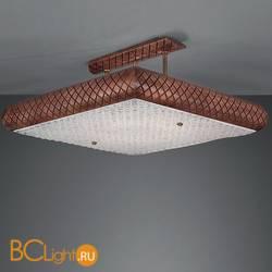 Потолочный светильник La Lampada PL. 163/8.40 Walnut