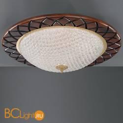 Потолочный светильник La Lampada PL. 166/6.26 Walnut