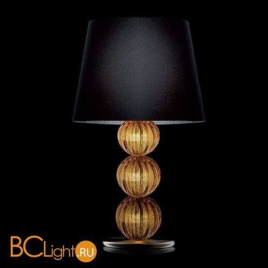 Настольная лампа La Murrina Rolls P topaz black
