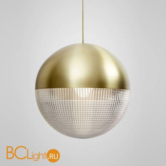 Подвесной светильник Lee Broom Lens Flair Pendant Light Brushed Brass LEN0010