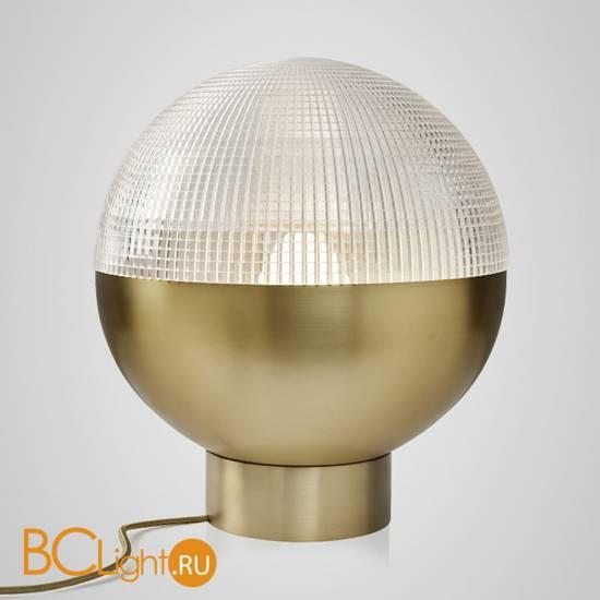 Настольный светильник Lee Broom Lens Flair Table Lamp Brushed Brass LEN0020