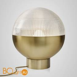 Настольный светильник Lee Broom Lens Flair Table Lamp Brushed Brass LEN0020