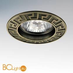 Встраиваемый спот (точечный светильник) Lightstar Antico 011111