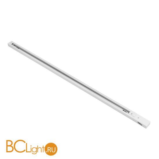 Шинопровод однофазный Lightstar Barra 502025 2м белый с токоподводом и заглушкой