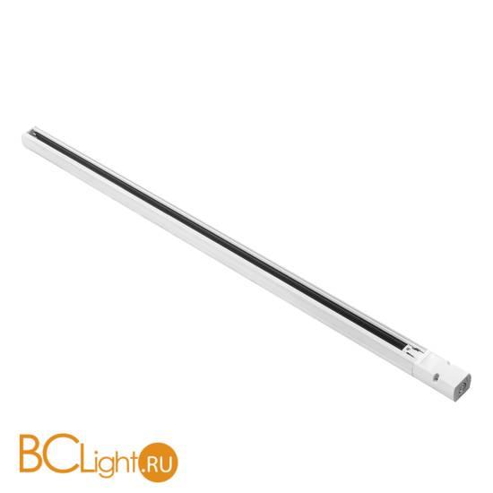 Шинопровод трехфазный Lightstar Barra 504015 1м белый с токоподводом и заглушкой