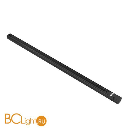 Шинопровод трехфазный Lightstar Barra 504028 2м черный с токоподводом и заглушкой