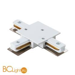Коннектор Т-образный для однофазного шинопровода Lightstar Barra 501136 белый