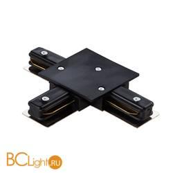 Коннектор Т-образный для однофазного шинопровода Lightstar Barra 501137 черный