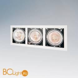 Встраиваемый спот (точечный светильник) Lightstar CARDANO 111 X3 BIANCO 214130
