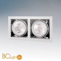 Встраиваемый спот (точечный светильник) Lightstar CARDANO 111 X2 BIANCO 214120
