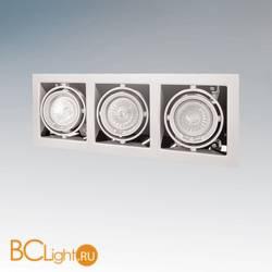 Встраиваемый спот (точечный светильник) Lightstar CARDANO 16 X3 Bianco 214030