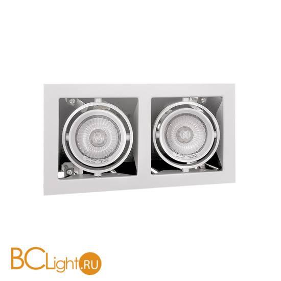 Встраиваемый карданный светильник Lightstar CARDANO 16 X2 Bianco 214020