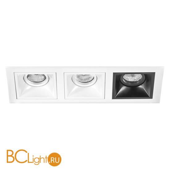 Встраиваемый светильник Lightstar Domino QUADRO МR16 (214536+214506+214506+214507) D536060607