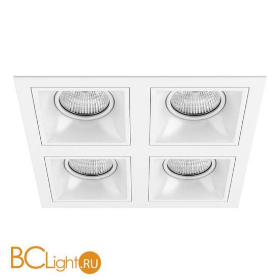 Встраиваемый светильник Lightstar Domino QUADRO МR16 (214546+214506+214506+214506+214506) D54606060606