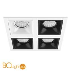 Встраиваемый светильник Lightstar Domino QUADRO МR16 (214546+214506+214507+214507+214507) D54606070707