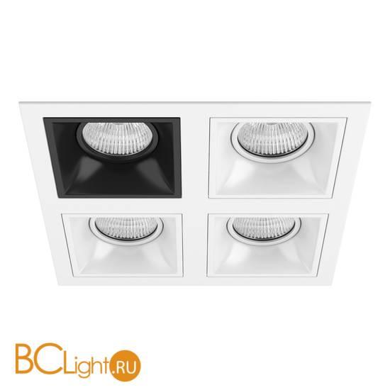 Встраиваемый светильник Lightstar Domino QUADRO МR16 (214546+214507+214506+214506+214506) D54607060606