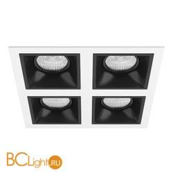 Встраиваемый светильник Lightstar Domino QUADRO МR16 (214546+214507+214507+214507+214507) D54607070707