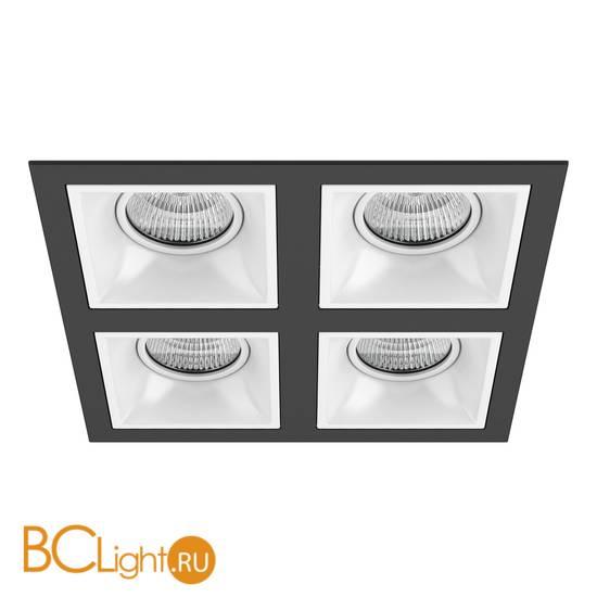 Встраиваемый светильник Lightstar Domino QUADRO МR16 (214547+214506+214506+214506+214506) D54706060606