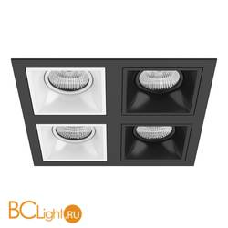 Встраиваемый светильник Lightstar Domino QUADRO МR16 (214547+214506+214506+214507+214507) D54706060707