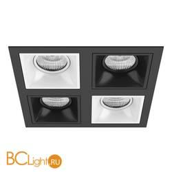 Встраиваемый светильник Lightstar Domino QUADRO МR16 (214547+214506+214507+214506+214507) D54706070607