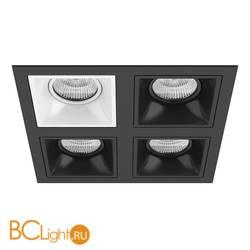 Встраиваемый светильник Lightstar Domino QUADRO МR16 (214547+214506+214507+214507+214507) D54706070707
