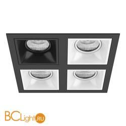 Встраиваемый светильник Lightstar Domino QUADRO МR16 (214547+214507+214506+214506+214506) D54707060606