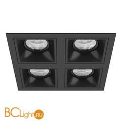 Встраиваемый светильник Lightstar Domino QUADRO МR16 (214547+214507+214507+214507+214507) D54707070707