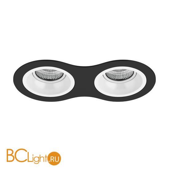 Встраиваемый светильник Lightstar Domino ROUND МR16 (214627+214606+214606) D6270606