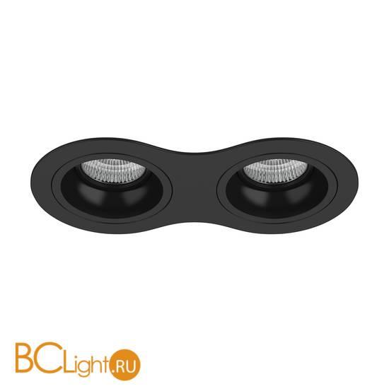 Встраиваемый светильник Lightstar Domino ROUND МR16 (214627+214607+214607) D6270707