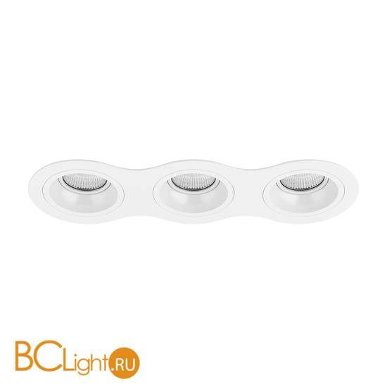 Встраиваемый светильник Lightstar Domino ROUND МR16 (214636+214606+214606+214606) D636060606