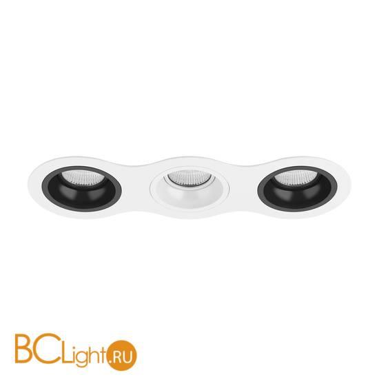 Встраиваемый светильник Lightstar Domino ROUND МR16 (214636+214607+214606+214607) D636070607