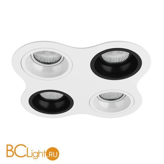 Встраиваемый светильник Lightstar Domino D64606070607 ROUND МR16 (214646+214606+214607+214606+214607)