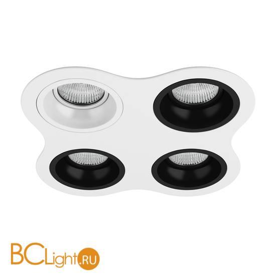 Встраиваемый светильник Lightstar Domino ROUND МR16 (214646+214606+214607+214607+214607) D64606070707