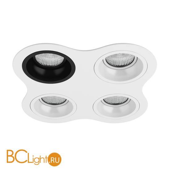 Встраиваемый светильник Lightstar Domino ROUND МR16 (214646+214607+214606+214606+214606) D64607060606